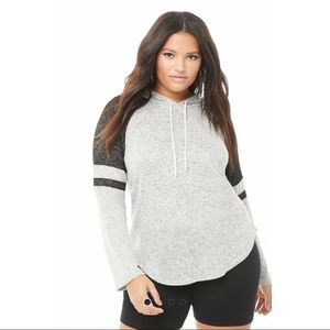 F21 NWT Plus Size SUPER SOFT Pullover Hoodie